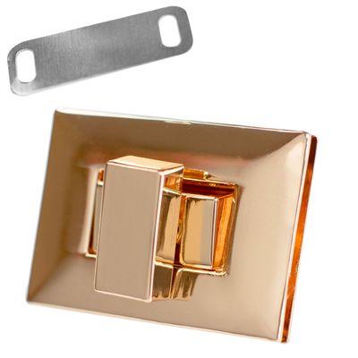 1 Set Metall Mappenverschluss Steck Dreh Verschluss Schloss, Größen Farbwahl – Bild 7