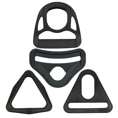 10 Kunststoff Triangeln Dreiecke D-Ring Ringe für Gurtband, Variantenwahl