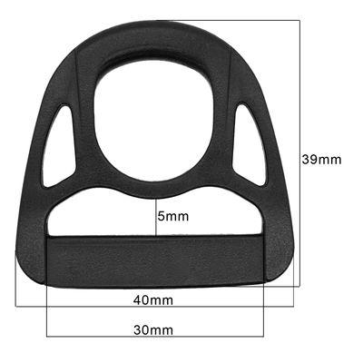 10 Kunststoff Triangeln Dreiecke D-Ring Ringe für Gurtband, Variantenwahl – Bild 5