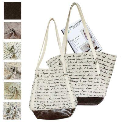 DIY Nähpaket - 2in1 Schultertasche -Lea- im Shopperstil Shopper, Variantenwahl – Bild 3