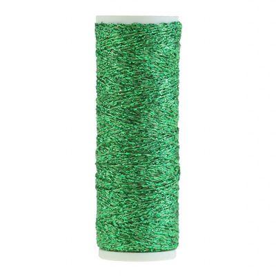 60m / 1 Spule Metallgarn Faden Glanz Glitzer Effekt Applikation, Farbwahl – Bild 2