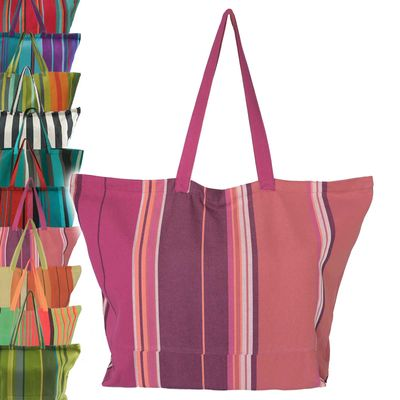 Robuste XXL Strandtasche Badetasche Einkaufstasche Shopper Fair Trade Handarbeit – Bild 15