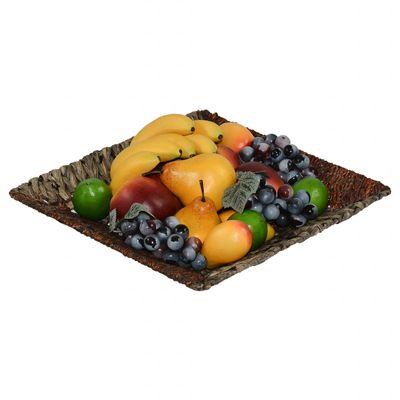 Edle Deko-Schale aus Maisblatt und Seegras, verschiedene Formen, Größenwahl