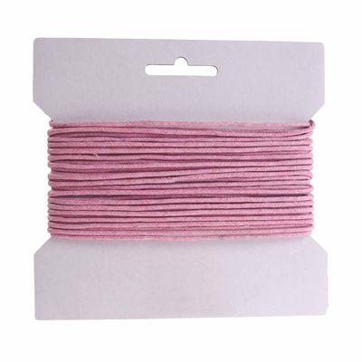 10m gewachste Baumwollschnur / Wachsschnur 2mm, Schmuckschnur, Farbe wählbar – Bild 4