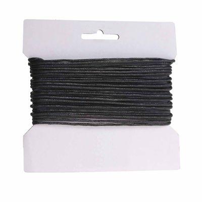 10m gewachste Baumwollschnur / Wachsschnur 2mm, Schmuckschnur, Farbe wählbar – Bild 2