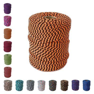 100m Polyester-Schnur 4mm mehrfarbig PES Kordel Polyesterkordel bunt – Bild 14