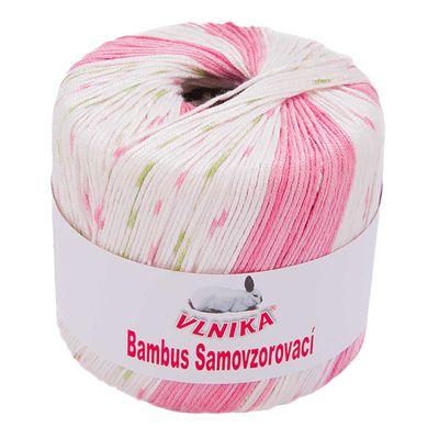 50g Strickgarn Bambus multi Häkelgarn Strickwolle, verschieden Farben – Bild 4