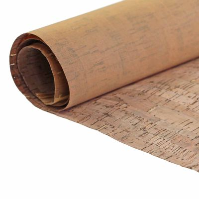 0,25 x 1m Meterware Kork-Stoff, naturbraun, Grammaturwahl - Korkstoff Korktextil – Bild 7