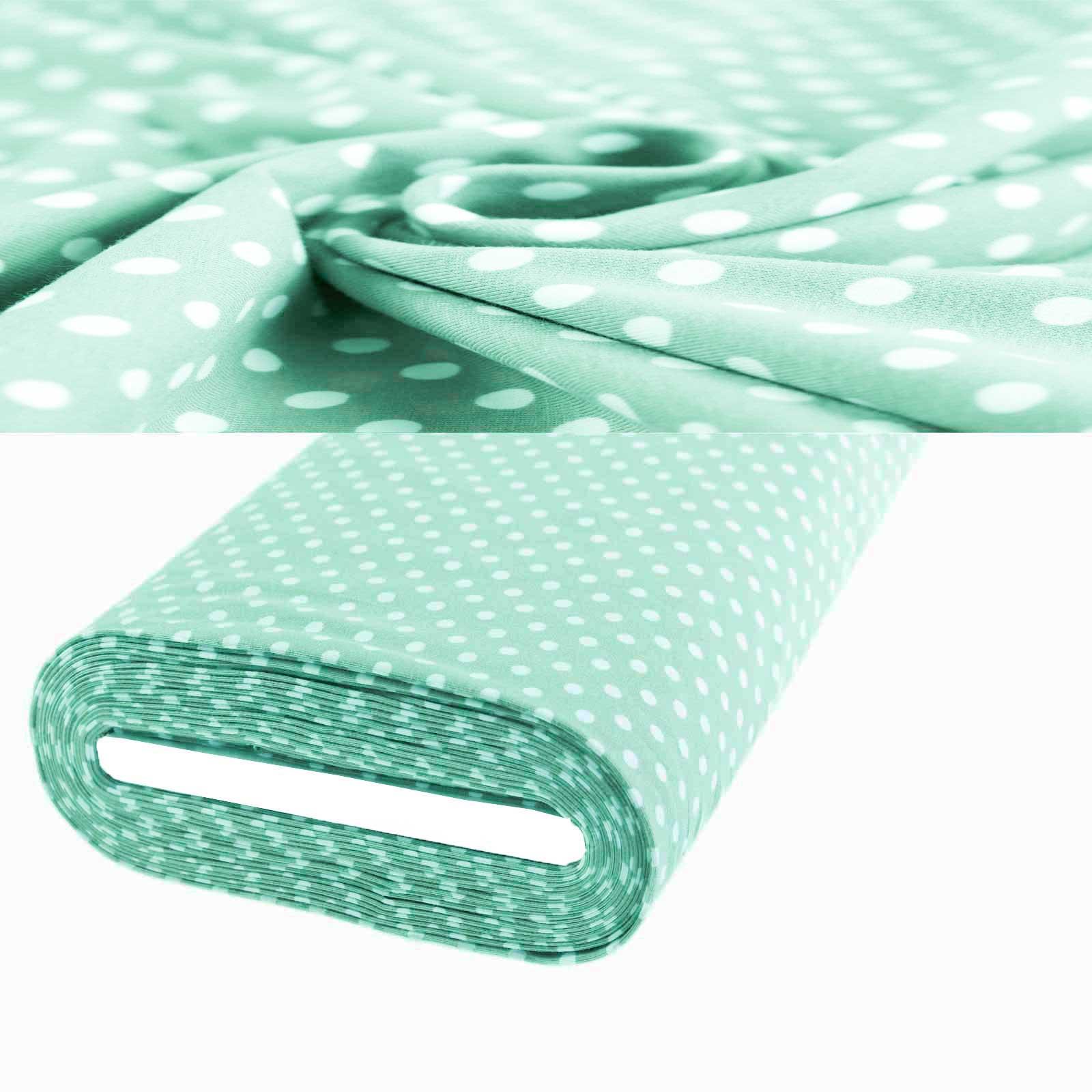1m Meterware Jersey Stoff gemustert für Freizeitkleidung 150cm breit, Farbwahl – Bild 21