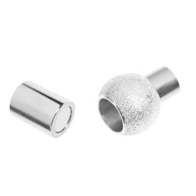 1 Edelstahl Magnetverschluss 20x12mm Ø6mm für Armband Lederarmband Halskette – Bild 3