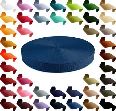 1m Gurtband, Polypropylen, 30mm breit, 1,3mm stark, 43 Farben wählbar – Bild 11