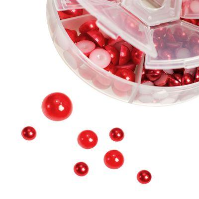 1 Box / 690 Schmucksteine Cabochons Klebesteine Kuppel 4~12x2~6mm, Farbwahl – Bild 6