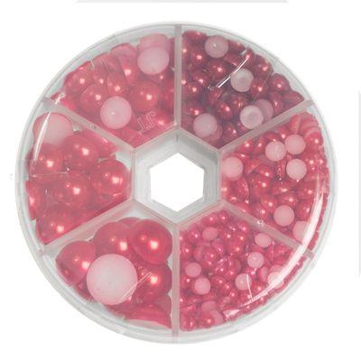 1 Box / 690 Schmucksteine Cabochons Klebesteine Kuppel 4~12x2~6mm, Farbwahl – Bild 7