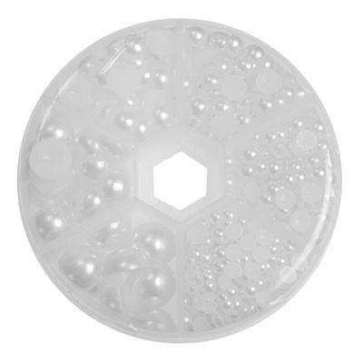1 Box / 690 Schmucksteine Cabochons Klebesteine Kuppel 4~12x2~6mm, Farbwahl – Bild 5