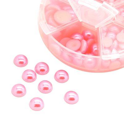 1 Box / 690 Schmucksteine Cabochons Klebesteine Kuppel 4~12x2~6mm, Farbwahl – Bild 22