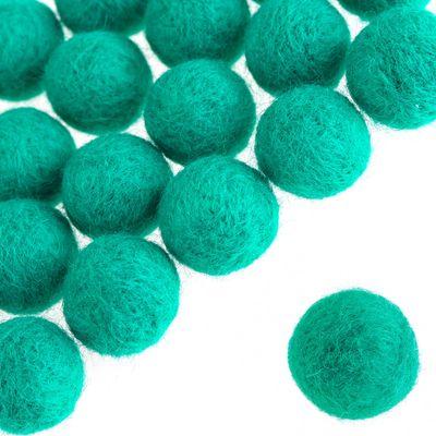 20 Pompons 20mm, verschiedene Farben Farbwahl - Pompon Kugel Ball Bälle – Bild 5