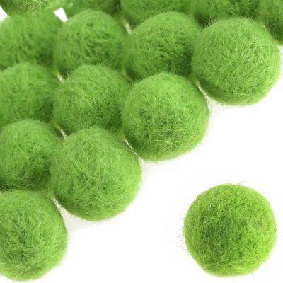 20 Pompons 20mm, verschiedene Farben Farbwahl - Pompon Kugel Ball Bälle – Bild 4