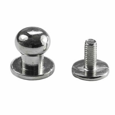 10 Knopfschraubnieten Patronentaschenverschluss Beiltaschenknöpfe Knopfnieten zum Anschrauben Pilzkopfschrauben, Größen Farbwahl – Bild 14