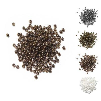 10g Rocailles Glasperlen rund 15/0 1,8~2 x 1~1,3mm, Bohrung 0,5mm, Farbwahl – Bild 7