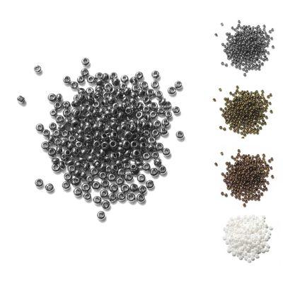 10g Rocailles Glasperlen rund 15/0 1,8~2 x 1~1,3mm, Bohrung 0,5mm, Farbwahl – Bild 2