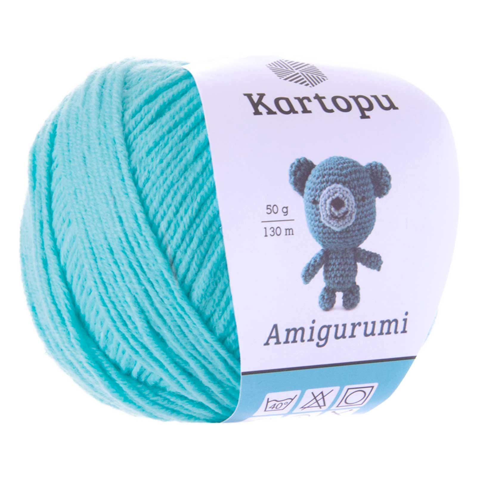 50g Strickgarn Kartopu Amigurumi Strickwolle Häkelgarn Amigurumiwolle, Farbwahl – Bild 5