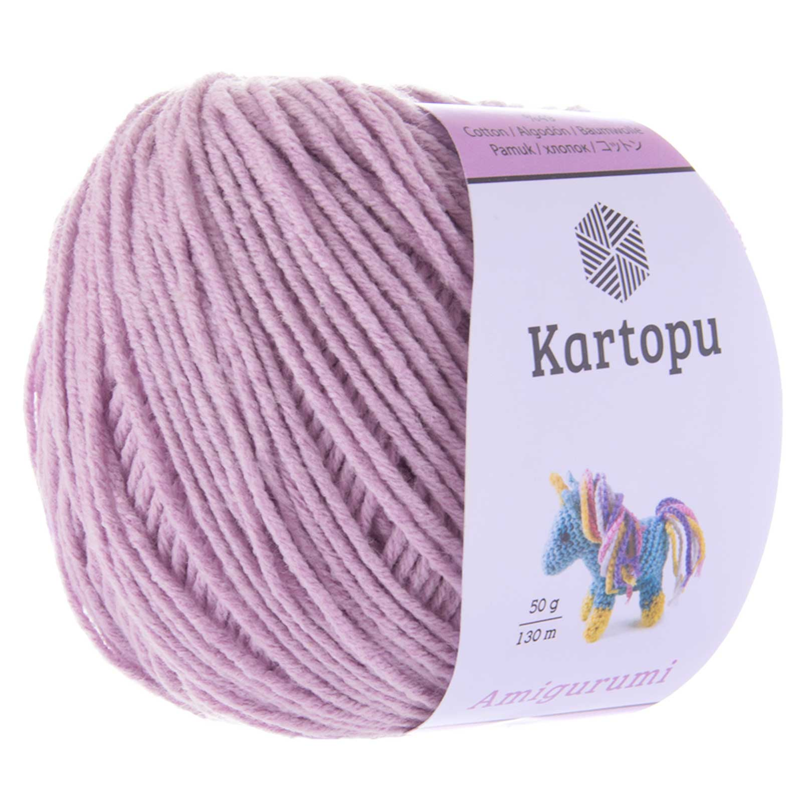 50g Strickgarn Kartopu Amigurumi Strickwolle Häkelgarn Amigurumiwolle, Farbwahl – Bild 12