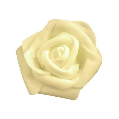 10 Deko-Rosen Schaumrosen Rosenblüten Rosenkopf 6cm viele tolle Farben Hochzeitsdeko – Bild 8