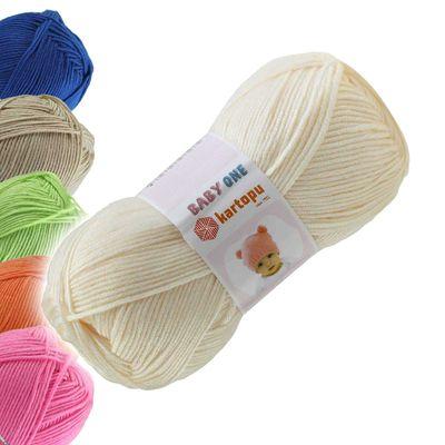 100g Strickgarn Kartopu BABY ONE Antipilling Babywolle Babystrickgarn, Farbwahl – Bild 11