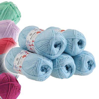 5 x 100g Strickgarn Kartopu BABY ONE Antipilling Babywolle Babygarn, Farbwahl – Bild 22