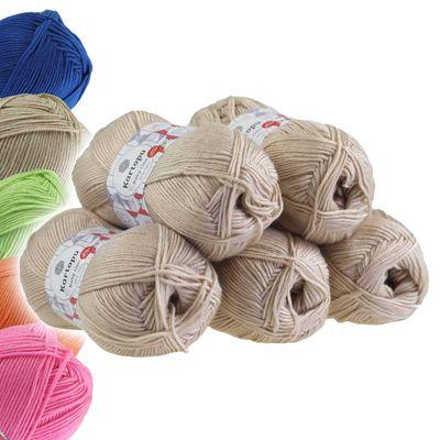 5 x 100g Strickgarn Kartopu BABY ONE Antipilling Babywolle Babygarn, Farbwahl – Bild 7