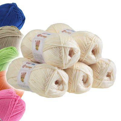 5 x 100g Strickgarn Kartopu BABY ONE Antipilling Babywolle Babygarn, Farbwahl – Bild 11