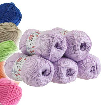 5 x 100g Strickgarn Kartopu BABY ONE Antipilling Babywolle Babygarn, Farbwahl – Bild 10