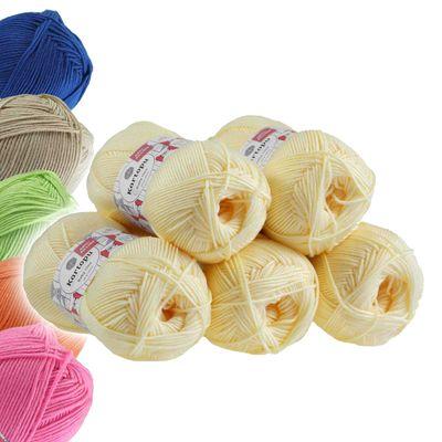 5 x 100g Strickgarn Kartopu BABY ONE Antipilling Babywolle Babygarn, Farbwahl – Bild 8