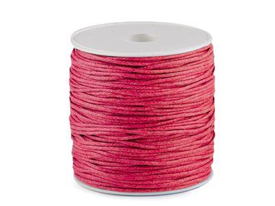 85-100m Gewachste Baumwollschnur 1,5-2mm Baumwollkordel Wachsband Schmuckherstellung – Bild 17