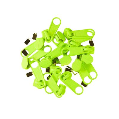 10 Reißverschluss Zipper für Endlosreißverschluss non lock, 5mm, Farbwahl – Bild 3