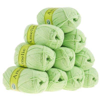 10 x 50g Strickgarn AMELIE Strick-Wolle Handstrickgarn Baby Kinder waschbar – Bild 6