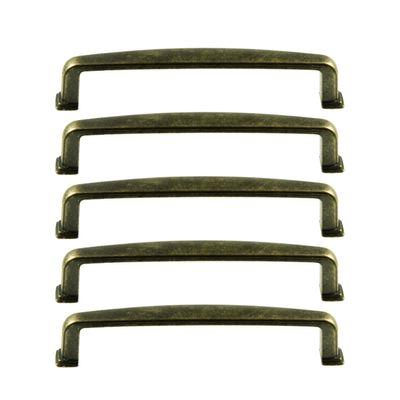 5 Metall-Griffe Bogengriffe antik bronze Schubladengriffe Schrankgriffe Möbelgriffe, Größenwahl – Bild 2