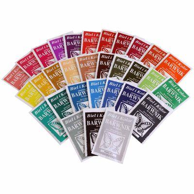5 x 10g Batikfarbe Textilfarbe Stofffarbe färben, bitte Farbmix wählen – Bild 1