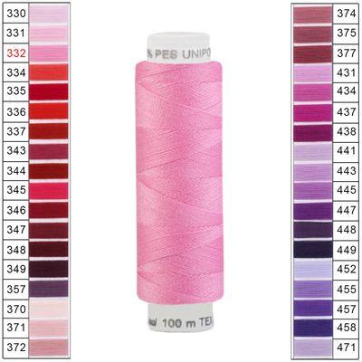100m / 1 Spule Unipoly 120 TEX14x2 Polyester Nähgarn Artikel 2v6 Farbwahl – Bild 3