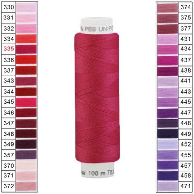100m / 1 Spule Unipoly 120 TEX14x2 Polyester Nähgarn Artikel 2v6 Farbwahl – Bild 5