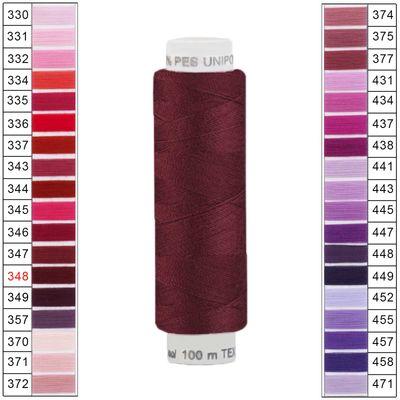 100m / 1 Spule Unipoly 120 TEX14x2 Polyester Nähgarn Artikel 2v6 Farbwahl – Bild 13