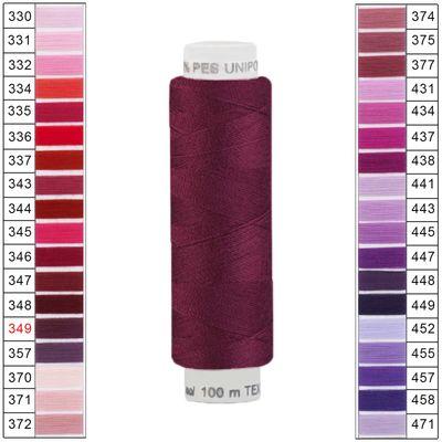 100m / 1 Spule Unipoly 120 TEX14x2 Polyester Nähgarn Artikel 2v6 Farbwahl – Bild 14