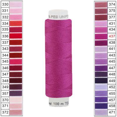 100m / 1 Spule Unipoly 120 TEX14x2 Polyester Nähgarn Artikel 2v6 Farbwahl – Bild 24