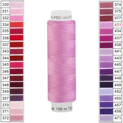 10 x 100m / 10 Spulen Unipoly 120 TEX14x2 Polyester Nähgarn Artikel 2v6 Farbwahl – Bild 22