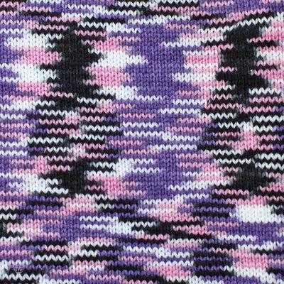 100g Strickgarn Häkelgarn TERA MULTI, Farbwahl - mehrfarbig bunt Farbverlauf – Bild 10