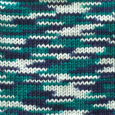 100g Strickgarn Häkelgarn TERA MULTI, Farbwahl - mehrfarbig bunt Farbverlauf – Bild 12