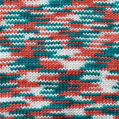 5 x 100g Strickgarn Häkelgarn TERA MULTI, Farbwahl - mehrfarbig bunt Farbverlauf – Bild 11