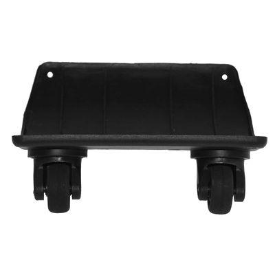 Doppel Lenkrollen 2 Rollen Ersatzräder 360° Kunststoff - Tasche Koffer Trolley – Bild 1
