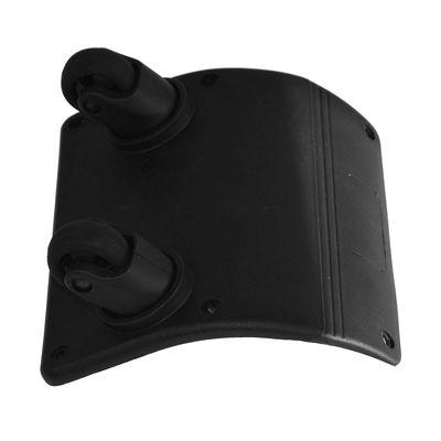 Doppel Lenkrollen 2 Rollen Ersatzräder 360° Kunststoff - Tasche Koffer Trolley – Bild 2