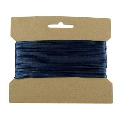 25m Satinschnur 1mm, Flechtschnur Satinkordel Kumihimo freie Farbwahl – Bild 15